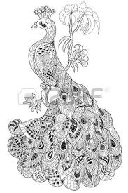 246 henna peacock stock illustrations cliparts and royalty free