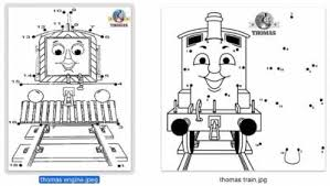 thomas train connect dots lovetoteach org free