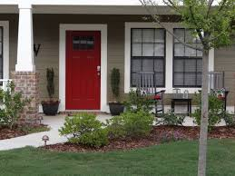 red paint on front door on a taupe vinyl siding house u2026 pinteres u2026