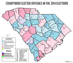 Map Of South Carolina Counties Map 2016 Presidential Primary Electorate By County Done Ish