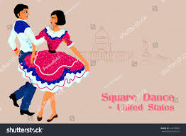 a couple dancing tango cartoon clipart vector toons vector design couple performing square dance stock vector