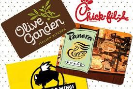 restaurant gift cards half price buffalo restaurant gift card deals walmart canada change coupons