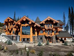 Log Post And Beam Homes Picture Gallery BC Canada - Post beam home designs