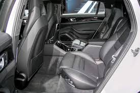porsche panamera interior back seat porsche bringing panamera exclusive series to l a auto show