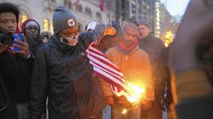 Flag Desecration Law Trump Tweet Suggests Criminalizing Flag Desecration Sparks Debate