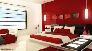 bedroom appealing glamorous modern red black and white bedroom