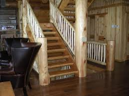 Log Cabin Floors by Cedar Log Lake Home Stone Floors Granite Counter Tops Carved