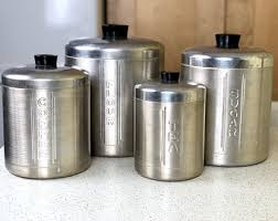 vintage kitchen canister set kitchen canister set etsy