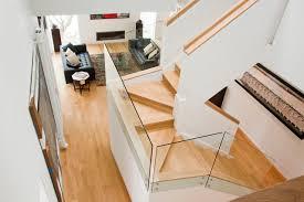 U Stairs Design Varma Residence Contemporary Staircase Dc Metro By
