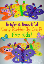 bright and beautiful butterfly craft butterfly crafts and simple