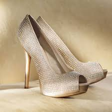 rhinestone peep toe pumps by for kohl s wedding