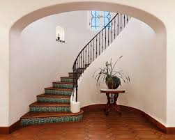 Curved Stairs Design Decorating Curved Staircase Design With Steel Handrail Decor Also