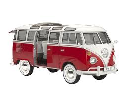 volkswagen hippie van amazon com 1 24 revell vw samba bus model kit toys u0026 games