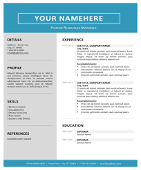 download 216 free resume templates in word and pdf