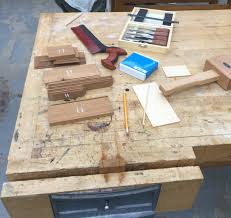 The Work Bench A Day U0027s Work Dovetails And The Dominy Workshop Material Matters