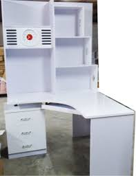 White Computer Desk With Hutch by Cheap Computer Desk And Book Case White Or Walnut In Sydney