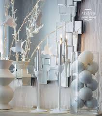 Winter Home Decorating Ideas by Luxurious Christmas Staircs Decorating Ideas With Luxury Ornaments