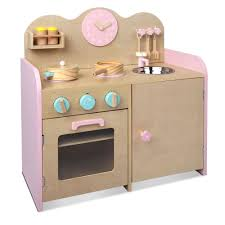 Toy Kitchen Set Wooden 7 Piece Wooden Kitchen Set