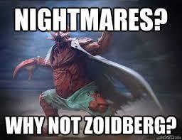 Why Not Zoidberg Meme - nightmares why not zoidberg misc quickmeme