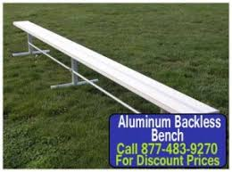 things to consider when buying aluminum backless outdoor benches