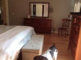 need advice on cherry wood bedroom furniture paint or put a stain o