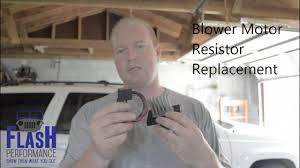 2002 jeep grand blower motor blower motor resistor replacement grand