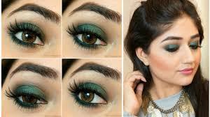 cat eye makeup tutorial with berry lips eid makeup look video