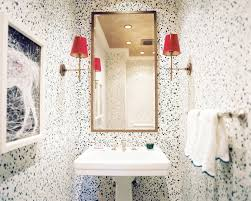 bathroom wallpaper designs powder room wallpaper design ideas lonny