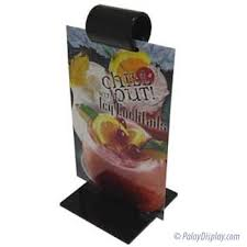 Table Tent Holders by Menu Roll Table Tent Countertop Sign Holders Flip Sign Holders
