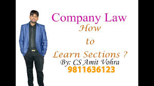sections in law how to learn sections ca cs cma youtube