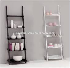 leaning ladder shelf amazing idead to display indoor ladder shelf