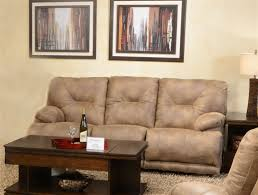 Triple Recliner Sofa by Voyager Power Lay Flat Reclining Sofa With Drop Down Table By