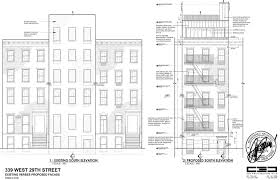 brownstone floor plans new york city landmarks leans towards removal of extra floor from hopper gibbons