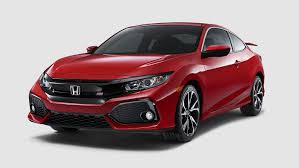 2018 civic si coupe u2013 bold sport compact car honda