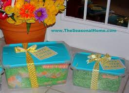 ideas for easter baskets for adults easter basket alternative the seasonal home