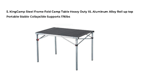 aluminium roll up table cing top 10 most affordable folding tables for cing of 2018 reviews