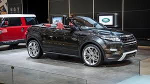 range rover concept revealed evoque convertible concept top gear
