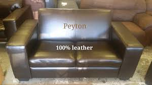Peyton Leather Sofa Peyton Genuine Leather 2 Seater Tableview Gumtree