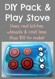Kitchens For Kids by Pack And Play Stove Mini Diy Portable Kitchen For Kids And
