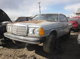 mercedes w123 coupe for sale junkyard find mercedes w123 coupe the about cars
