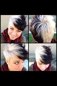 coloring pixie haircut 13 korte kapsels voor dames die graag opvallen tints pinterest