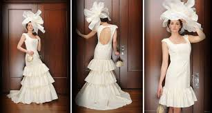 chic square neck wedding dress with detachable skirt and open