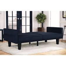Leather Futon Sofa Furniture Comfortable Metro Futon Sofabed For Modern Tufted Sofa