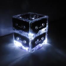 Lighted Centerpiece Ideas by Lighted Wedding Table Centerpiece Lighted Cassette Tape Mixtape