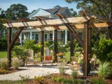 How To Build A Pergola Attached To House by How To Build A Wall Leaning Pergola How Tos Diy