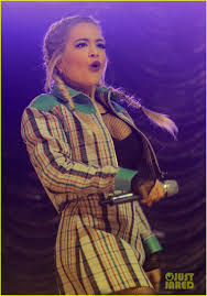 rita ora u0026 little mix perform at kiss fm u0027s haunted house party