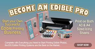 edible printing system edible image supplies edible icing and frosting sheets and edible
