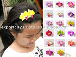flower hair band dendrobium orchid foam flower hair band headband buy hair band
