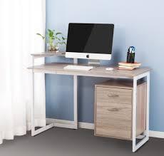 Walmart Desk Computer Shelf Small Corner Computer Desk With Printer Shelf Oak Walmart