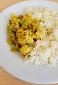 cuisiner le chou fleur curry végétarien au chou fleur recettes de cuisine marciatack fr
